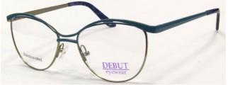 Металлическая оправа Debut Eyewear (синяя)