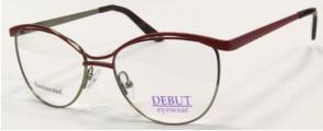 Металлическая оправа Debut Eyewear (терракотовая)