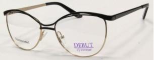 Металлическая оправа Debut Eyewear (черная)