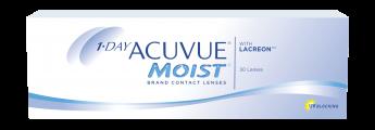 Ежедневные контактные линзы 1 DAY ACUVUEMOIST 30 линз