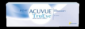 Ежедневные контактные линзы 1-DAY ACUVUE TRUEYE 30 линз