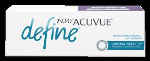 Ежедневные контактные линзы 1 Day Acuvue Define естественный блеск 30 линз
