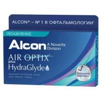Ежемесячные линзы AirOptix Plus Hydra Glyde 3 линзы
