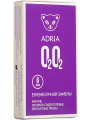 Ежемесячные контактные линзы Adria O2O2 6 линз