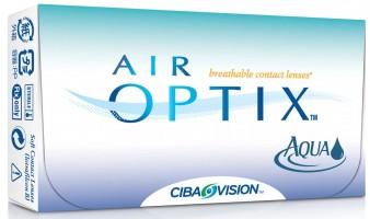Ежемесячные контактные линзы Air optix aqua 3 линзы