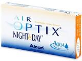 Контактные линзы ежемесячной замены Air Optix Night&Day Aqua 3 линзы