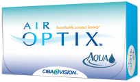 Ежемесячные контактные линзы Air optix aqua 6 линз