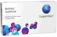 Ежемесячные контактные линзы Biofinity Multifocal 3 линзы