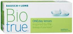 Линзы ежедневной замены BiotrueONEday 30 линз