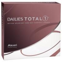Ежедневные контактные линзы ALCON DAILIES TOTAL 1 90 линз