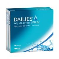 Однодневные контактные линзыDailiesAquaComfortPlus 90 линз