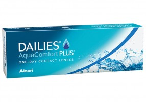 Однодневные контактные линзыDailiesAquaComfortPlus 30 линз