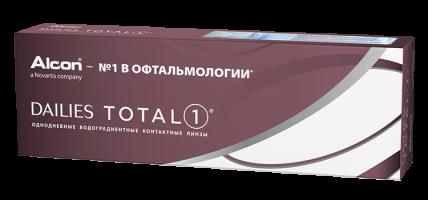 Ежедневные контактные линзы ALCON DAILIES TOTAL 1 30 линз