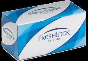 Ежемесячные цветные контактные линзы Freshlook Colors (2 линзы)
