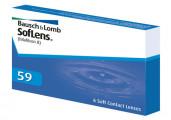 Ежемесячные контактные линзы Soflens 59 6 линз