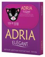Ежеквартальные контактные линзы Adria Elegant 2 линзы