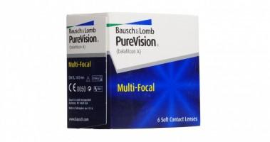 Ежемесячные мультифокальные контактные линзы линзы Pure Vision MultiFocal 6 линз