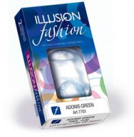 Ежемесячные цветные контактные линзы Freshlook Dimensions с диоптриями (6 линз)