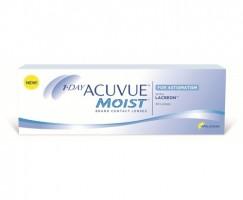 Ежедневные контактные линзы 1 DAY ACUVUEMOIST  for ASTIGMATISM 30 линз