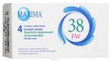 Ежеквартальные контактные линзы Maxima 38 АМ 4 линзы
