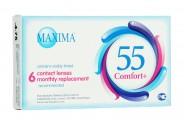 Ежемесячные контактные линзы Maxima 55 ComfortPlus 6 линз